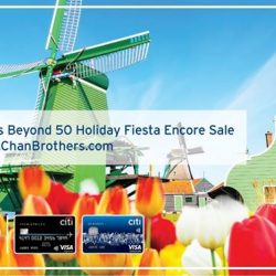 [Citibank ATM] Keep the fiesta rolling with irresistible deals at Chan Brothers Beyond 50 Holiday Fiesta Encore Sale from this Fri to