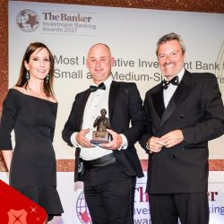 [DBS Bank] DBS is the global winner for 'Most Innovative Investment Bank for SMEs', awarded at The Banker's Investment Banking Awards