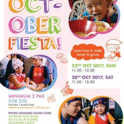 [Ippudo Express] Dear Customers, We will hold the next Child Kitchen Event on 22nd & 28th October in Singapore.