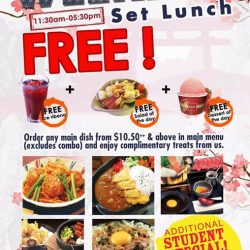 [MOF @ MY IZAKAYA & AMASOY] Weekday set lunch promotion (11.
