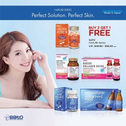 [Watsons Singapore] With the HAKUBI series you can now look forward to perfect, healthy skin from the inside out.