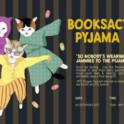 [The 1872 Clipper Tea Co.] Make yourself at home and come dressed in your comfy jammies to BooksActually Pyjama Party!