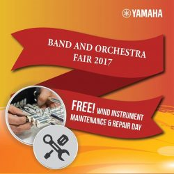 [YAMAHA MUSIC SQUARE] Missed out our complimentary Maintenance and Repair for Yamaha Brass and Woodwind instrument?