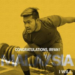 [Under Armour Singapore] Winning his third consecutive Gold in the Southeast Asian Games, congratulations to UnderArmourMY athlete, Irfan Shamshuddin for hurling the discus