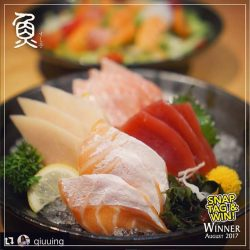[Sushi Tei] Congratulations to @qiuuing for being the August winner of our 'Snap, Tag & Win' Contest!
