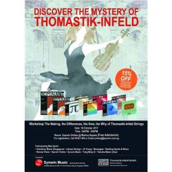 [Synwin Violins] Thomastik infeld strings workshop on 18 Oct.