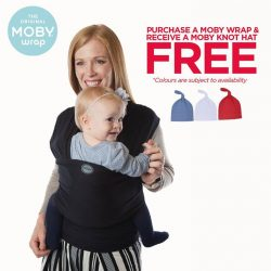 [Spring Maternity] This September, we celebrate the bountiful benefits of babywearing with a plethora of promotions.
