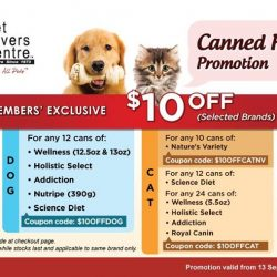 [Pet Lovers Centre Singapore] We're running a Members' exclusive promo!
