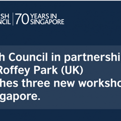 [British Council] British Council Professional Development Centre in Singapore is delighted to announce a new partnership with Roffey Park from the UK.