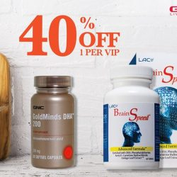 [GNC Live Well Singapore] Enjoy 40% off these brain health supplements!