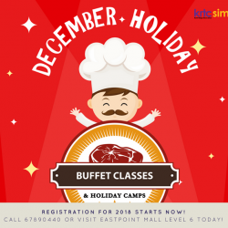 [Eastpoint Mall] KRTC Simei is offering a wide range of holiday programmes and camps too!