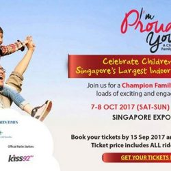 "[MindChamps Medical] ONE MORE WEEK till the early bird promo ends for ""I'm Proud of You"" Day - A Champion Family Festival."