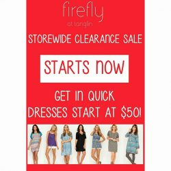 [Firefly] It's happening right now STOREWIDE CLEARANCE SALE at Firefly Tanglin Mall 02-24/25 While stock last.