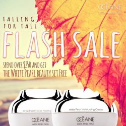 [OCEANE] Celebrate Fall and shop our Fall Flash Sale!