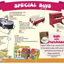 [Isetan] Celebrate with us this Children's Day at Isetan with a whole lot of specials lined up specially for you.