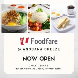 [Foodfare] Foodies at Yishun can now enjoy affordable, tasty and healthier meals at our newly-opened outlet at Angsana Breeze!