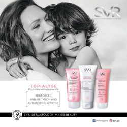 [Watsons Singapore] For atopic, dry, or irritated skin, SVR has created Topialyse.