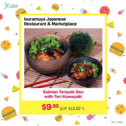 [ISURAMUYA JAPANESE RESTAURANT & MARKET PLACE] Life's too short spending lunch with plastic trays and bowls in food courts!