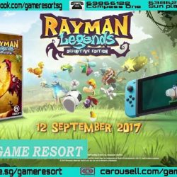 [GAME RESORT] NSW Rayman Legends Definitive Edition,DetailsVideosRayman, winner of multiple artistic and musical achievements, is coming to Nintendo Switch