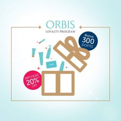 [ORBIS] Join us as an ORBIS member today and receive an immediate 300 bonus points ( =$3 )!