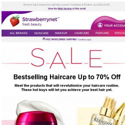 [StrawberryNet] Superstar Haircare on SALE Up to 70% Off