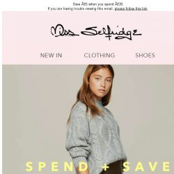 [Miss Selfridge] Save £10 when you spend £50, or…