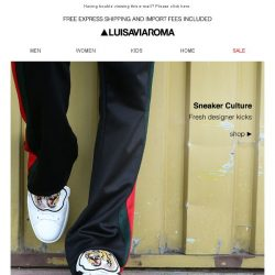 [LUISAVIAROMA] Next Level Sneakers: McQueen, Valentino, Saint Laurent and more...