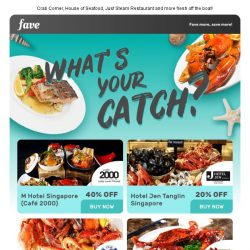[Fave] What's your catch?