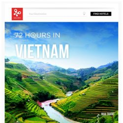 [Kaligo] , earn up to 10,300 Miles in just 72 hours, while exploring Vietnam!
