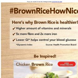 [Fairprice] Brown Rice Healthy Tips & Recipe!