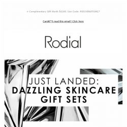 [RODIAL] Our Dazzling Skincare Gifts Are Here!