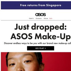 [ASOS] ASOS Make-Up – it's landed