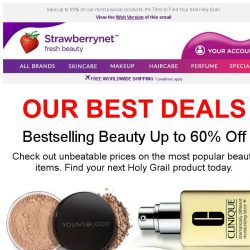 [StrawberryNet] , Shop the Best Deals List. 1500+ Hot Buys in Skincare, Makeup, Perfume & Haircare.
