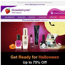 [StrawberryNet] 👻 Get a Budget Halloween Makeover for as low as US$7🎃