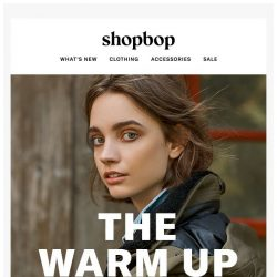 [Shopbop] Warm up to the latest cold-weather coats