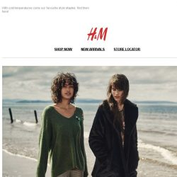 [H&M] Checks, florals and tailored silhouettes