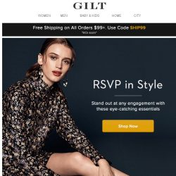 [Gilt] RSVP in Style: Cocktail Party Essentials