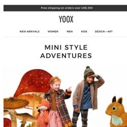 [Yoox] Kids: Autumn/Winter for the little ones