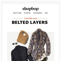 [Shopbop] How we're wearing dresses into fall