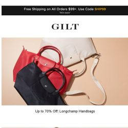 [Gilt] Up to 70% Off: Designer Handbags, RACHEL Rachel Roy and More Start Now