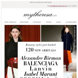 [mytheresa] This just in: Isabel Marant, Victoria Beckham, Roksanda...