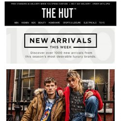 [The Hut] New arrivals from Superdry, LSA, Omorovicza and more