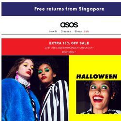 [ASOS] Scaring is caring...
