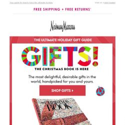 [Neiman Marcus] The Christmas Book is here