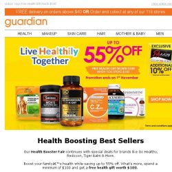 [Guardian] The Greatest Wealth is HEALTH! 🍏 Special Deals Just For You!