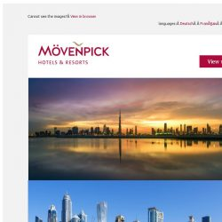 [Mövenpick Hotels & Resorts] ☀ Dubai: 5 Great hotel options & plenty of things to do