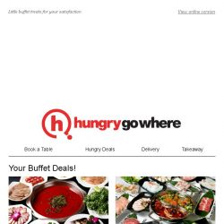 [HungryGoWhere] Indulge in these awesome buffet delights!