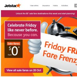 [Jetstar] 5 more $0 destinations to unlock! Be the first to know and start planning.