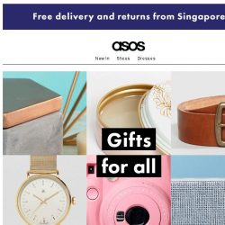 [ASOS] Get ready for gifts