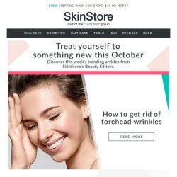 [SkinStore] How To Get Rid Of Wrinkles & More Expert Beauty Advice